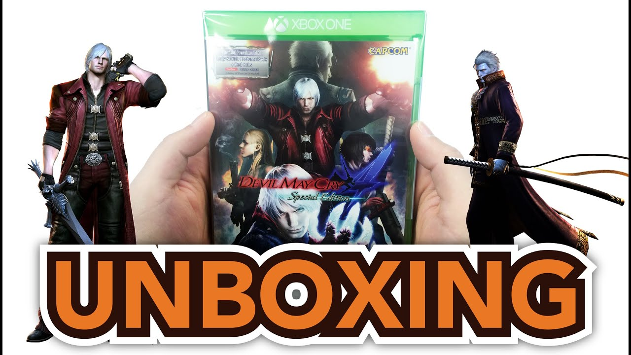 Devil May Cry  Special Edition Asian Version Xbox One Unboxing