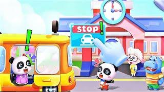 Baby Panda's School Bus Let's Drive Game for Kids/Meultachet screenshot 5