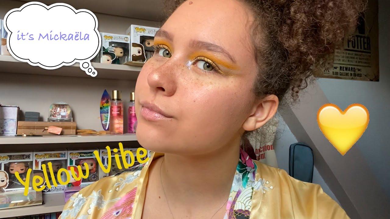 @Camille Ricordel: TUTO makeup monochrome Jaune 💛