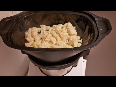 come cuocere al vapore con la macchina per cucinare Monsieur Cuisine