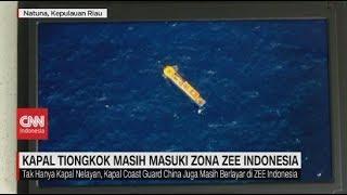 Kapal Tiongkok Masih Masuki Zona ZEE Indonesia