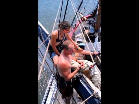 A Day in the Life- Sailing Tallship HMS Bounty Part 2