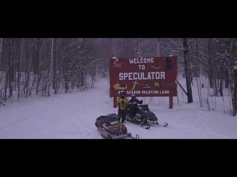 Snowmobiling in Speculator NY - Come Out and Play