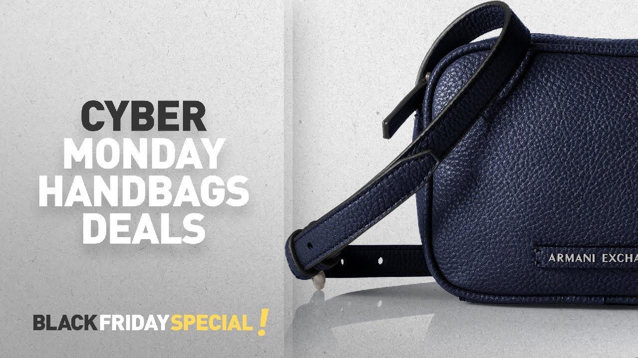Cyber Monday A X Armani Exchange Handbags Deals  A X Armani Exchange Camera  Crossbody a4dbcdfdb7