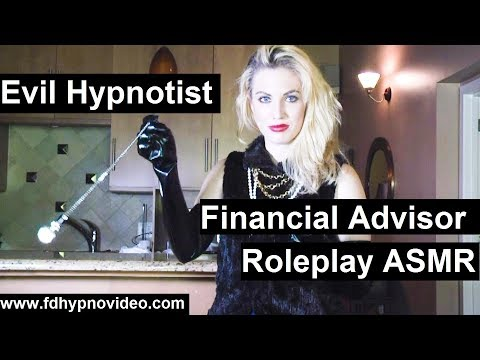 Hypnotized by your financial advisor to give her everything. ASMR Hypnosis roleplay preview