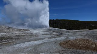 Activity picking up at Steamboat Geyser