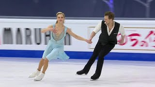 Виктория Синицина Никита Кацалапов Ритм танец Танцы на льду Чемпионат мира по фигурному катанию