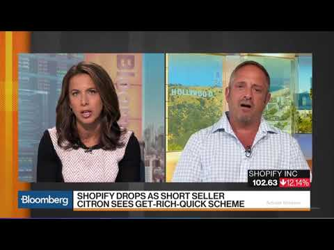CiTRON CLAIMS SHOPIFY ($SHOP) is SCAMMING THEiR CUSTOMERS! 10-04-2017