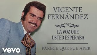 Vicente Fernández - Parece Que Fue Ayer (Cover Audio)