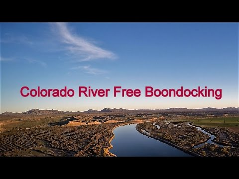 Free Camping-Pic Review of the Colorado River, Ehrenberg AZ 3/2017