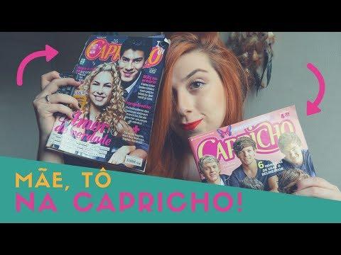 EU SAÍ NA CAPRICHO! - Minha história com a revista Capricho 😍