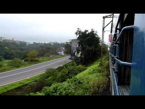 Khandala to Lonavala journey onboard Indrayani Express!!