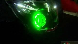 V296 Robotic eye projector headlight TVS Apache By Mxsmotosport.com