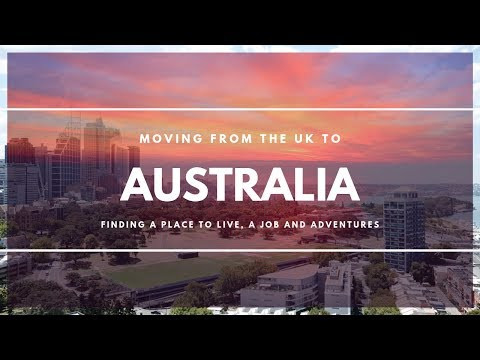 Moving From The UK To Australia