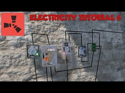 Rust Electricity Tutorial #6 - Memory Cells - OR Switch - XOR Switch thumbnail