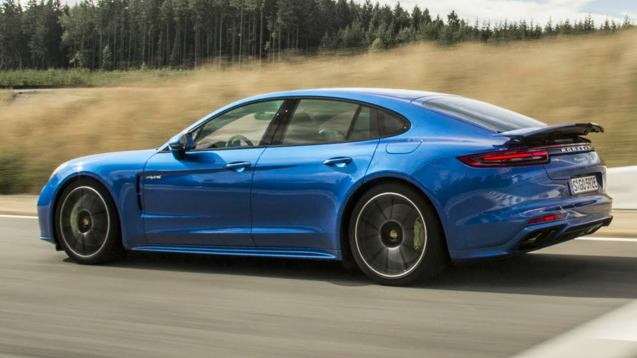 2018 Blue Panamera Turbo S E Hybrid