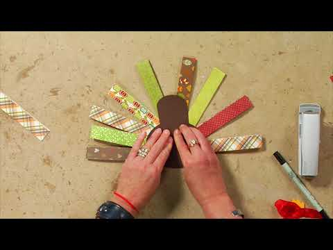 Easy DIY kids turkey craft project