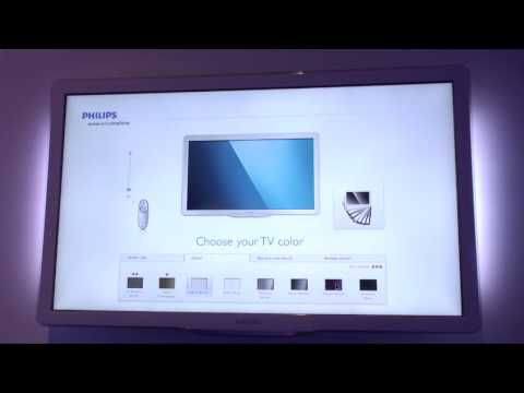 Philips design your own TV - IFA 2010 Raw video