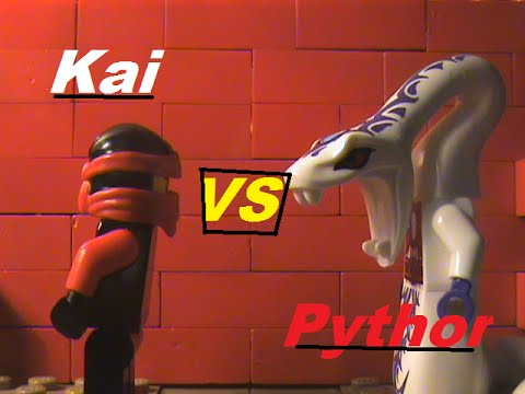 Lego ninjago kai vs pythor youtube - Ninjago vs ninjago ...