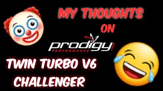 Prodigy Performance's V6 dodge challenger Twin Turbo Kit.....LMAO