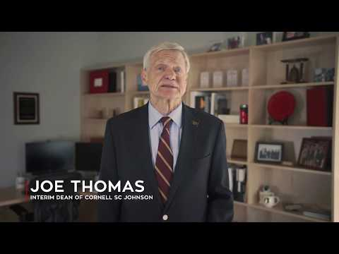 Joe Thomas | Cornell SC Johnson College of Business