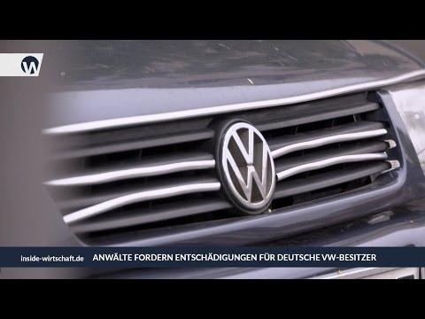 Dieselskandal: Rechtsanwälte fordern Entschädigung für deutsche VW-Besitzer