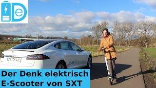 Vorstellung des SXT light E-Scooter von Denk elektrisch