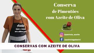 Thumbnail/Imagem do vídeo Conserva de pimentões no Azeite de Oliva
