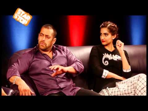 Salman Khan & Sonam Kapoor Exclusive Interview   Prem Ratan Dhan Payo   B4U Starstop Part 2