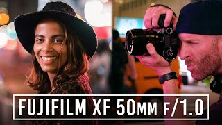 FUJIFILM XF 50mm f/1.0 Lens - Low Light Photographers Rejoice! | First Look