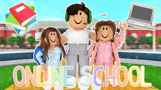 First Day of ONLINE SCHOOL!! *ZOOM RAID* ✰ Roblox Bloxburg Roleplay