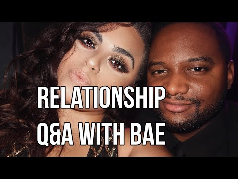 RELATIONSHIP Q&A (Xmas edition) with my FIANCÉ!!!♡♡ |GABRIELLAGLAMOUR