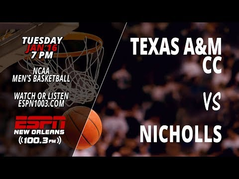Texas A&M Corpus Christi @ Nicholls Colonels (Men's Basketball)