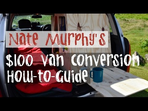 HOW TO : DIY VAN CONVERSION FOR $100