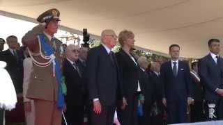 2 Giugno Festa della Repubblica Presidente Napolitano Parata Militare
