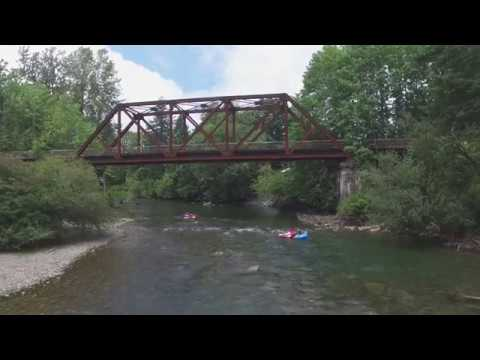 The Tube Shack Intro Video. Cowichan River Tubing