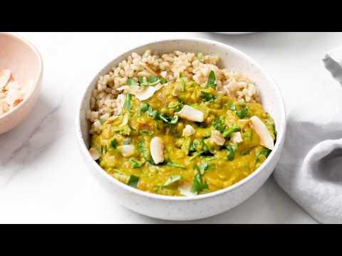 30 Minute Instant Pot Red Lentil Curry