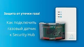 Защита от утечки газа. Как подключить газовый датчик к Security Hub.