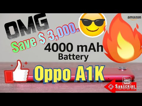 Oppo A1K price 7,990.00 on Amazon.com