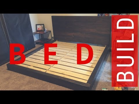 Low Profile Bed Build With Lumber (KING)