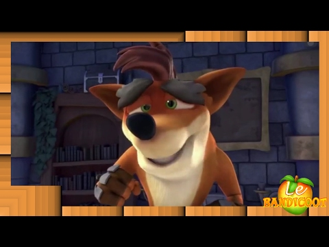 Crash Bandicoot dans Skylanders Academy