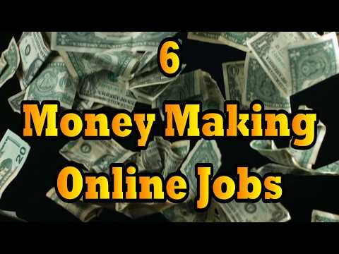 6 Money Making Online Jobs To Make Passive Income
