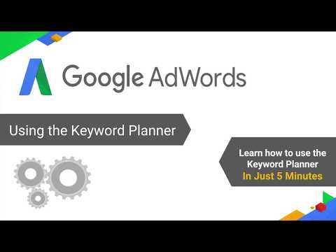 Using the Keyword Planner Effectively - English(IN) Audio