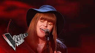Aimee Performs 'Meet You At The Moon'   Blind Auditions   The Voice Kids UK 2019