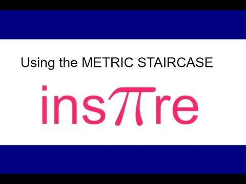 Metric Staircase to convert between metric units
