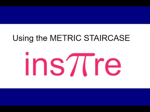 Metric Staircase to convert between metric units