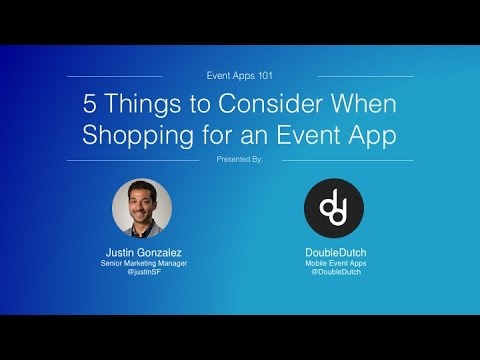 5 Things to Consider When Shopping for Event Apps
