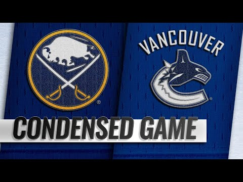 01/18/19 Condensed Game: Sabres @ Canucks