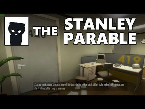 Lirik playing The Stanley Parable #1