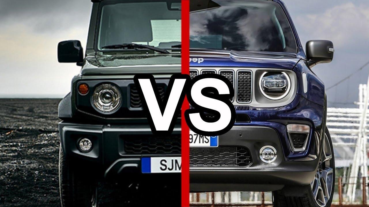 Jeep Build And Price >> 2019 Suzuki Jimny Vs. 2019 Jeep Renegade - YouTube